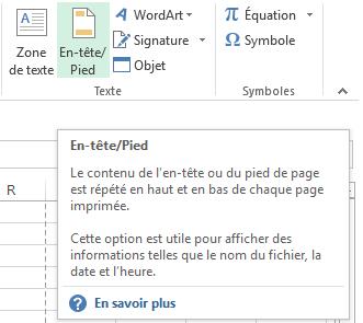 Excel:Impression du contenu d'un classeur