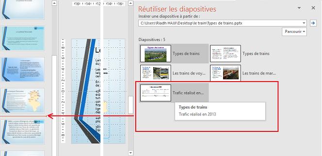 exporter diapositive powerpoint