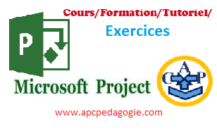 ms project exercice