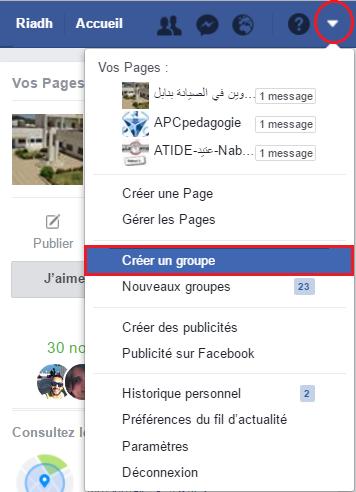 Comment créer un groupe sur Facebook?