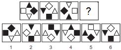 test psychologique matrices 5