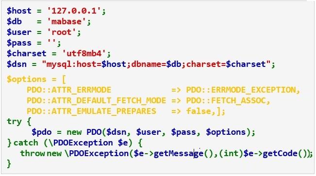 Accéder aux bases de données avec PDO de PHP