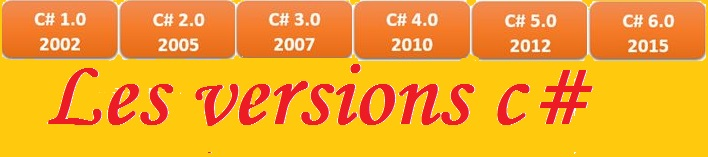 C#:Les versions