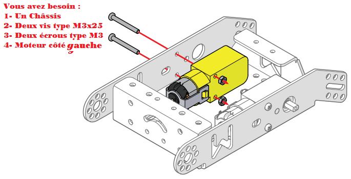 monter le robot mBot