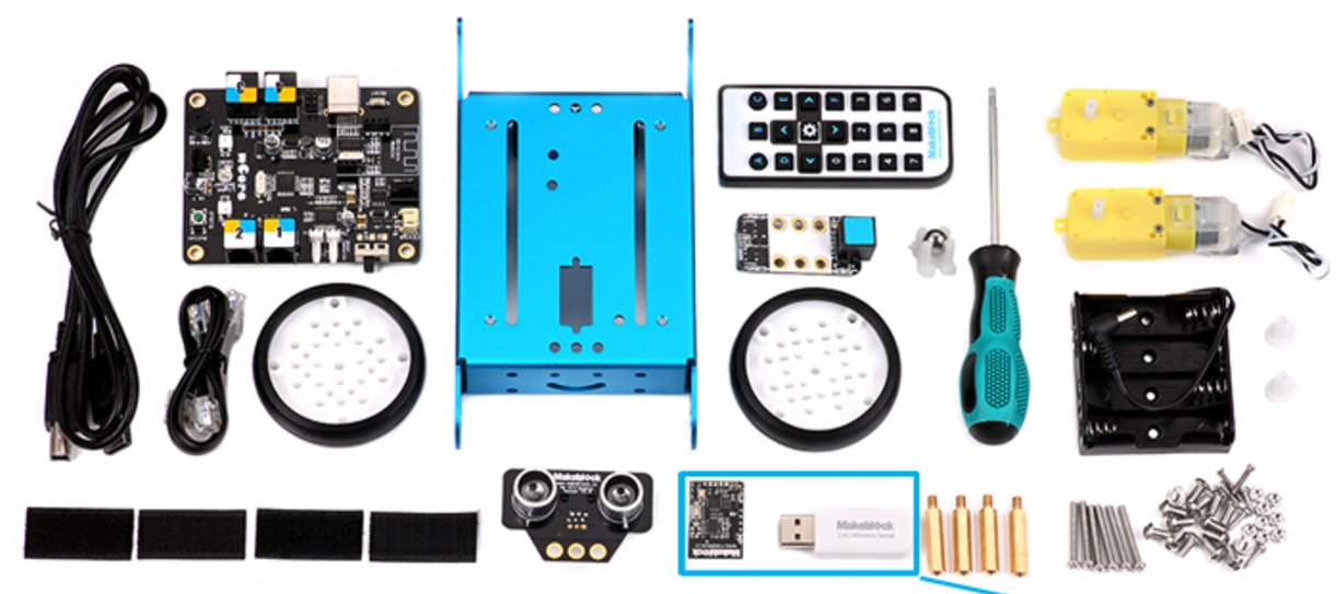 Les Composants mBot