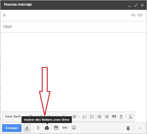 fichier volumineux google drive
