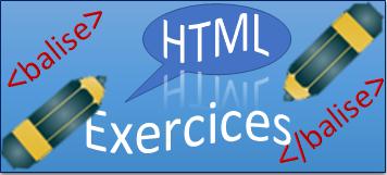 exercices html