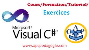 Exercices d'applications les variables en c sharp
