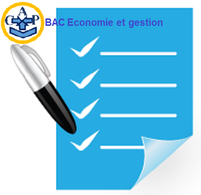 Sujets BAC Economie et gestion