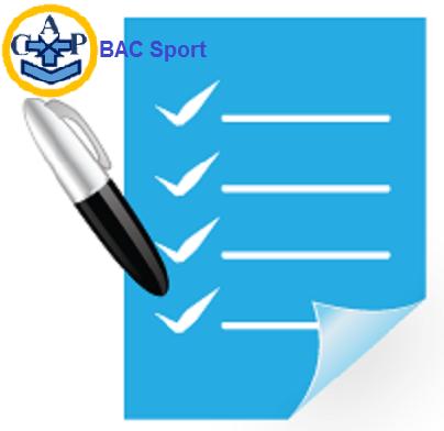 Sujets BAC Sport