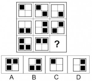 test psychotechnique matrice 10