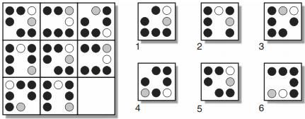 test psychotechnique matrice 17