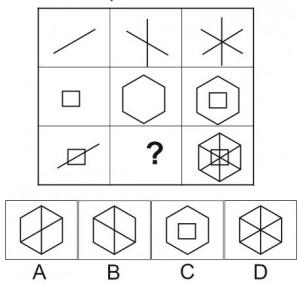 test psychotechnique matrice 9