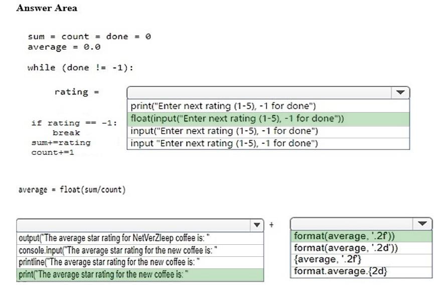 Correction exercices les types de données en Python