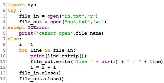 Exercices les fichiers en Python