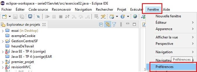 Création d'un serveur Tomcat sous Eclipse