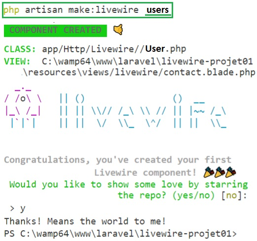 Laravel Livewire CRUD Exemple01