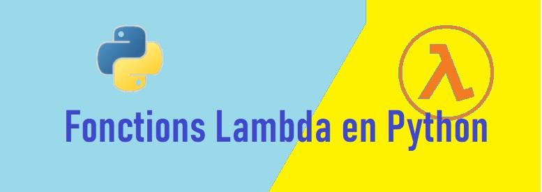 Fonctions Lambda en Python