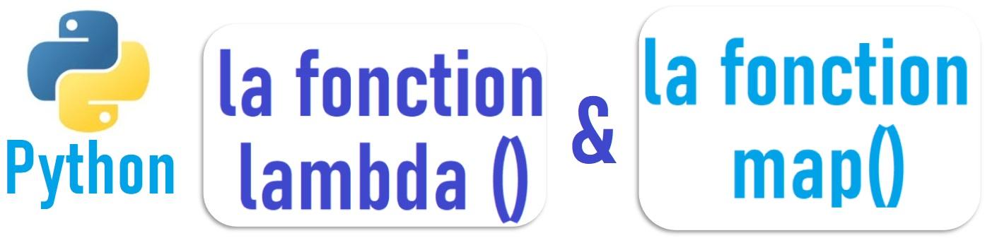 Utilisation de la fonction lambda avec map